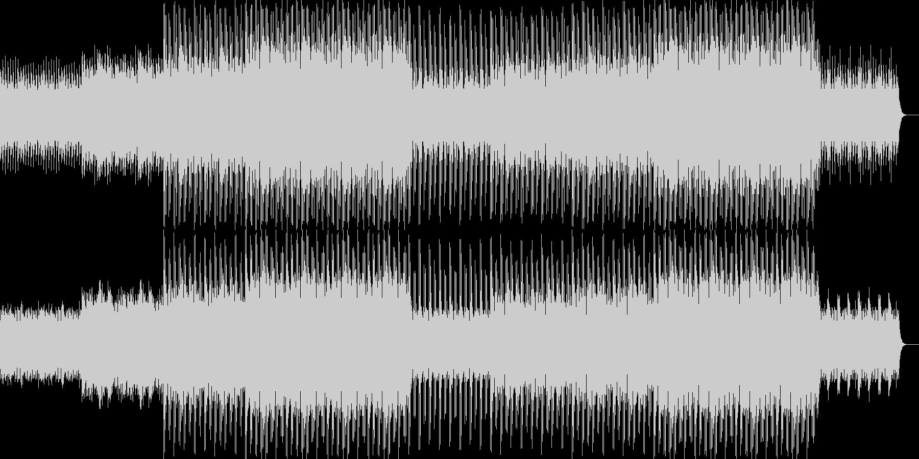 ニュース映像ナレーションバック向け-17の未再生の波形