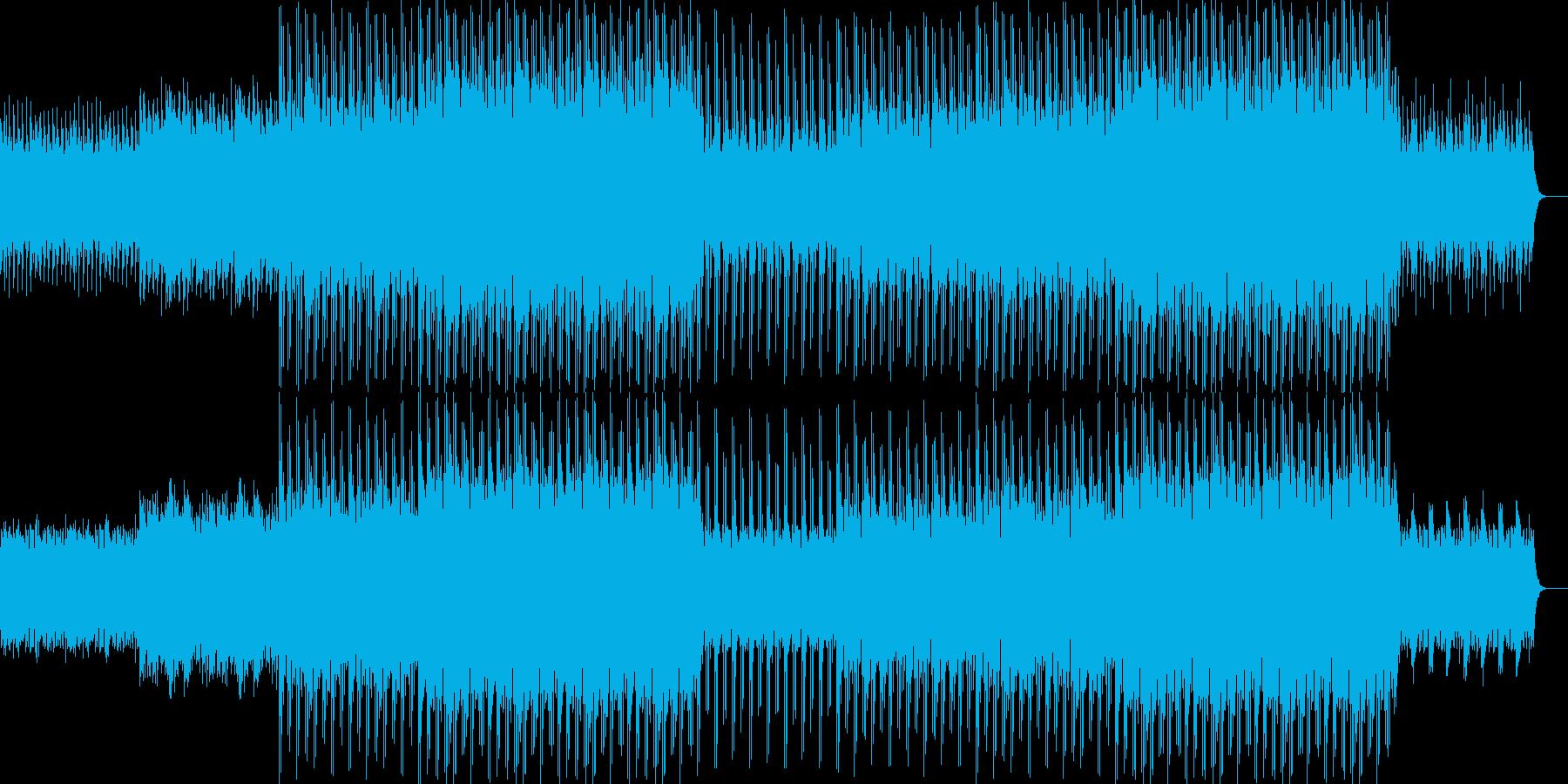 ニュース映像ナレーションバック向け-17の再生済みの波形