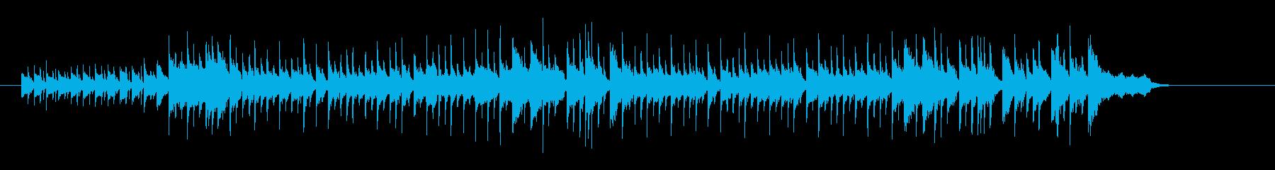タイトなニュー・ミュージック風の再生済みの波形