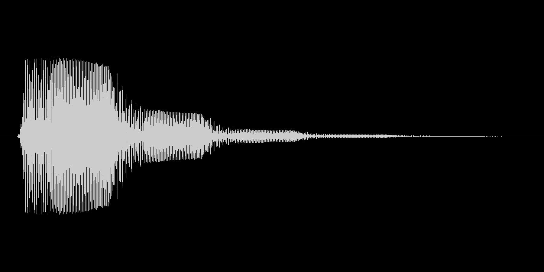 ファミコン風効果音決定音系です 03の未再生の波形