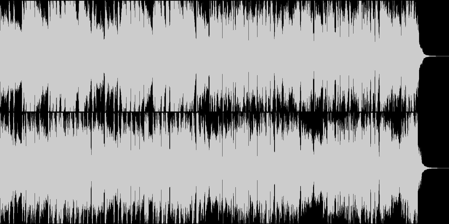 ケルト風の村BGMの未再生の波形