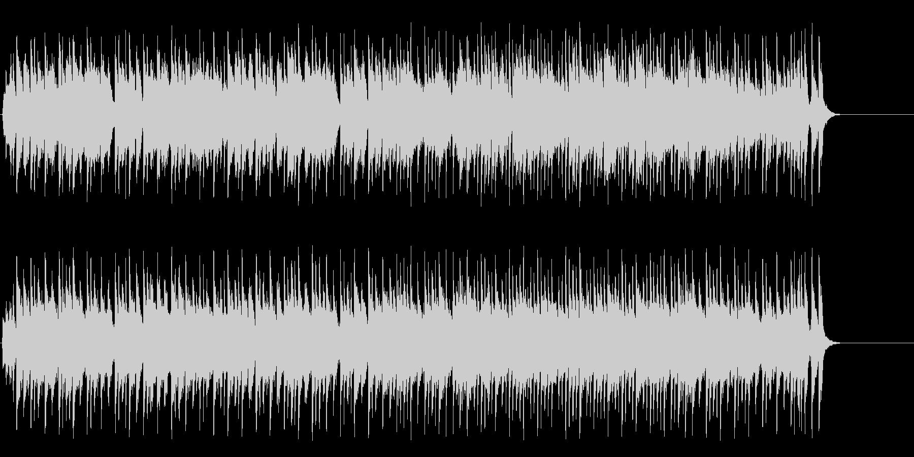 ほのぼのとしたポップ(A~サビ~エンド)の未再生の波形