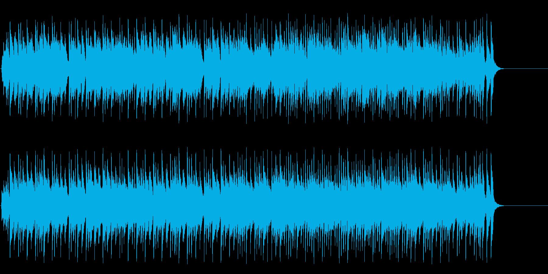 ほのぼのとしたポップ(A~サビ~エンド)の再生済みの波形
