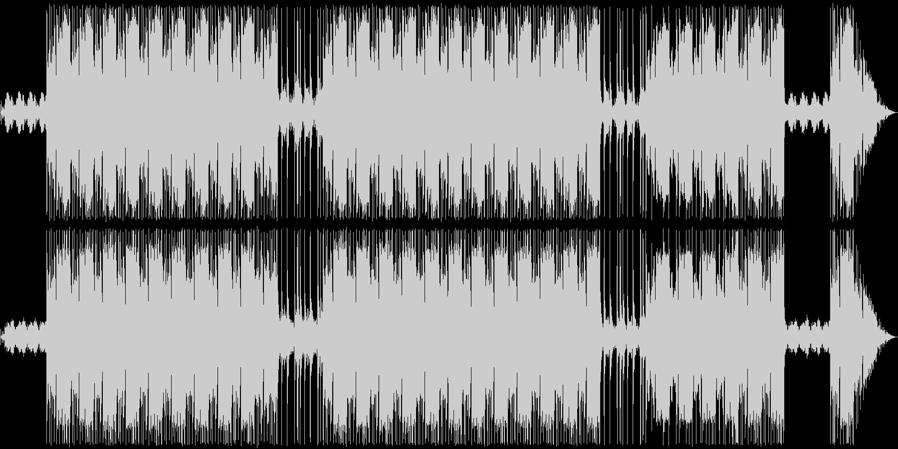 メニュー曲。の未再生の波形