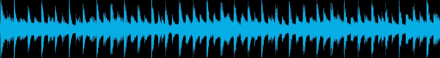 爽やかでキラキラしたポップジングルループの再生済みの波形