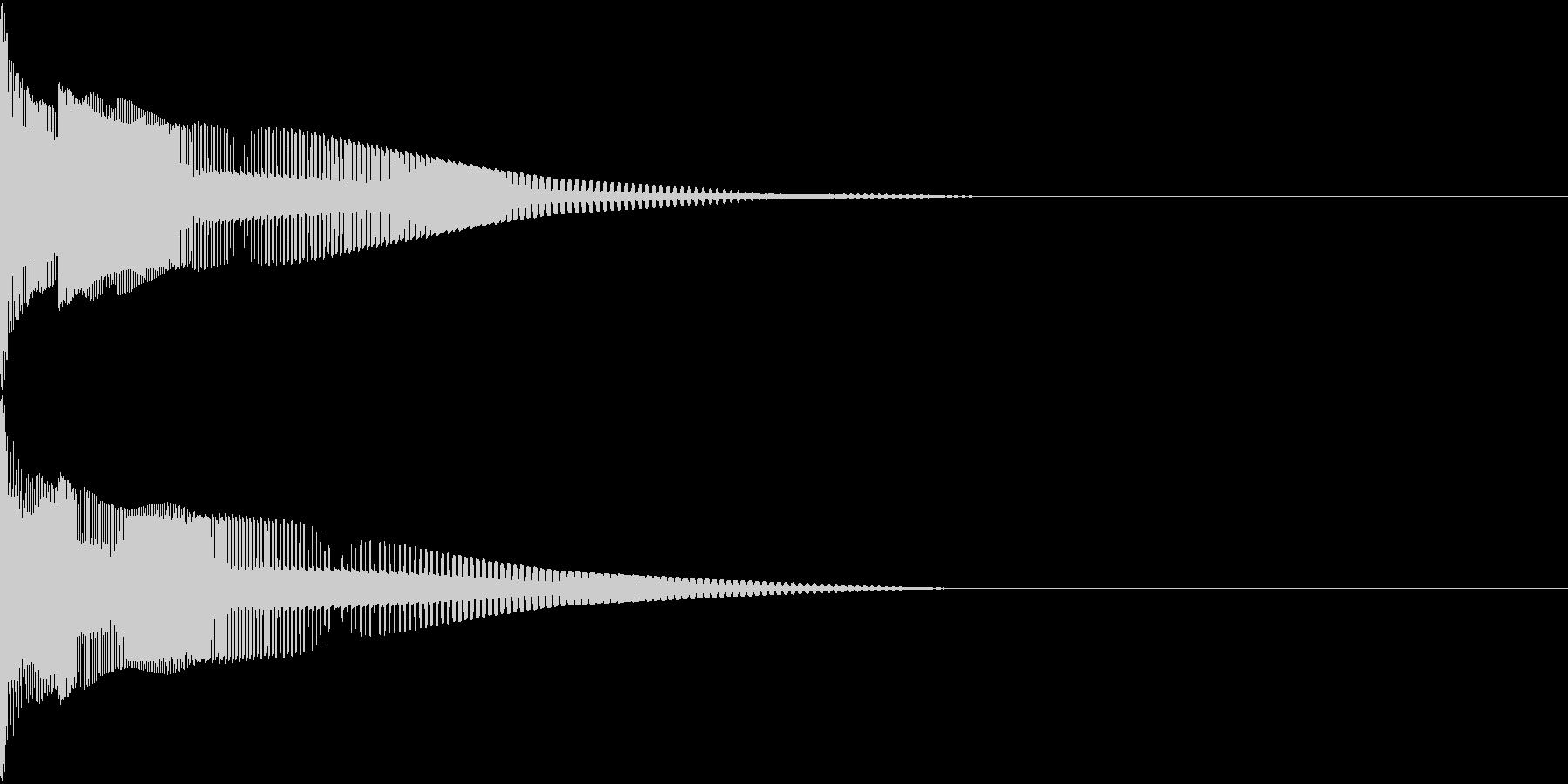 Henteko 可愛いクラッシュ音 10の未再生の波形