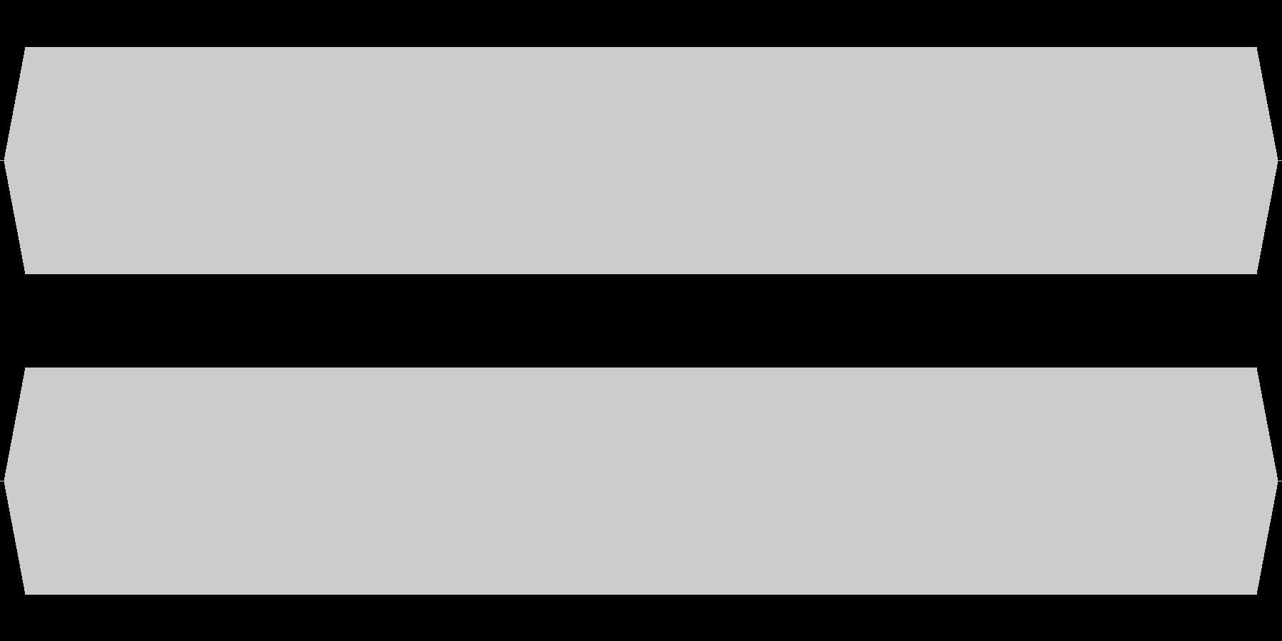 モスキート音 18.5kHzの未再生の波形