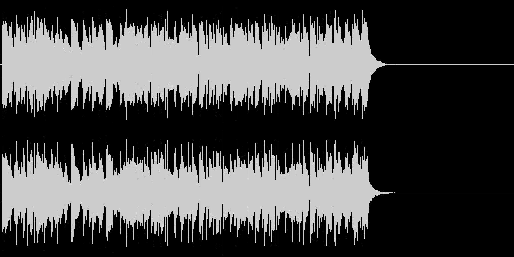 悪さする様なポップ(Aメロ)の未再生の波形