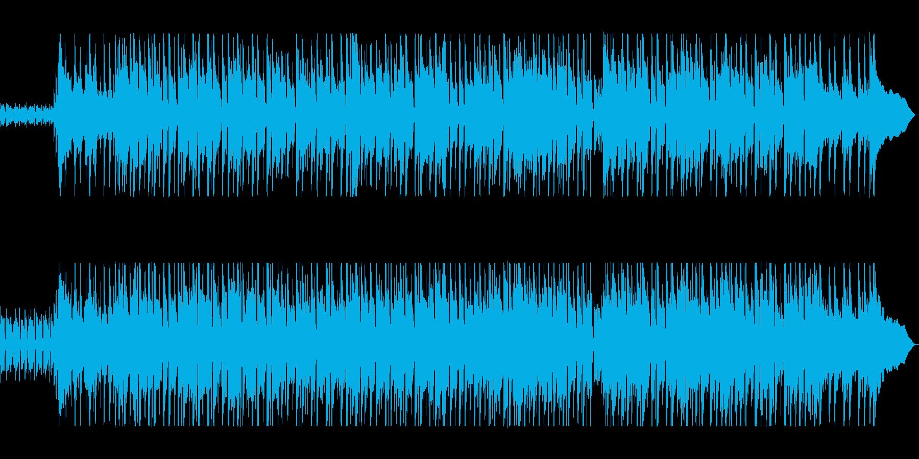 爽やかで軽やかなアコギサウンドの再生済みの波形