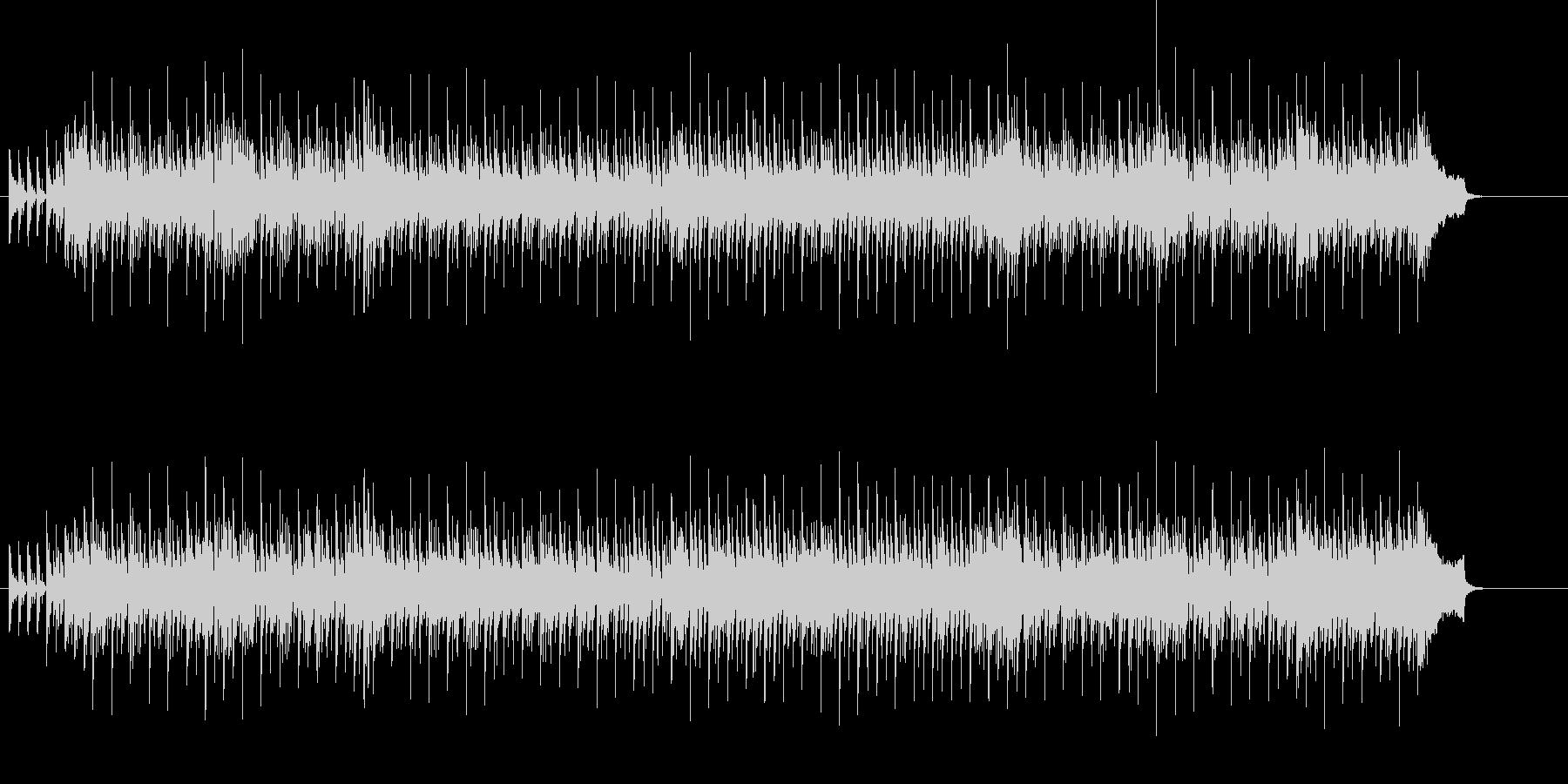 甘く伸びやか チープなユーロ・ビート風の未再生の波形