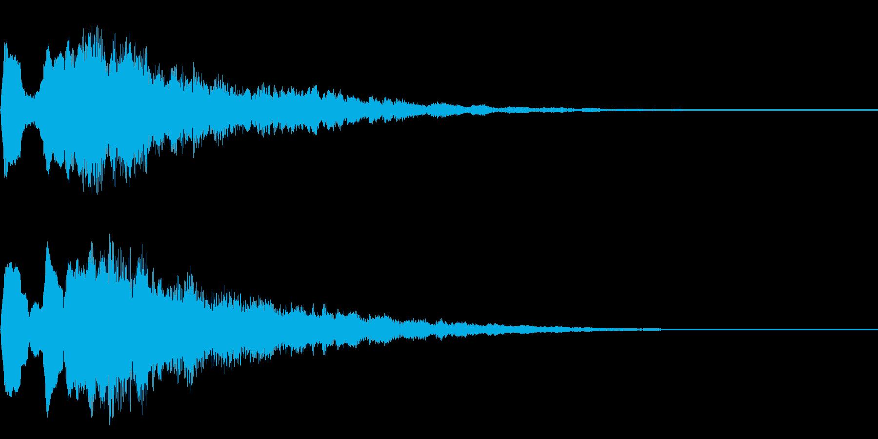 ステージ、ゲームクリア音 タッタララーの再生済みの波形