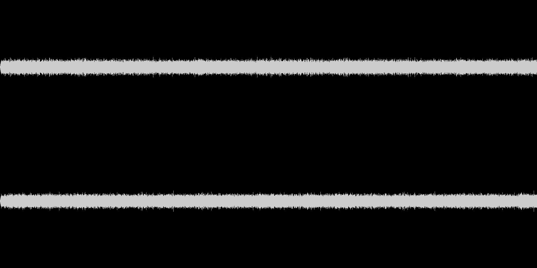 マイクノイズの未再生の波形