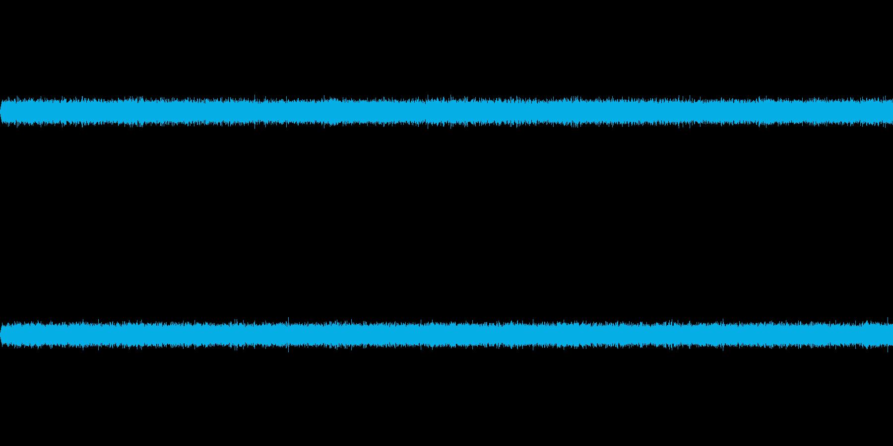 マイクノイズの再生済みの波形