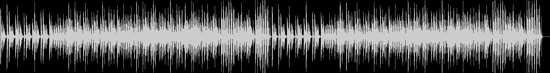 CM流行サウンドのライトアコースティックの未再生の波形