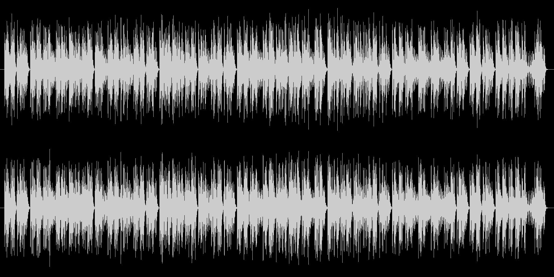 のんびりとしたオルゴール調の楽曲です。…の未再生の波形