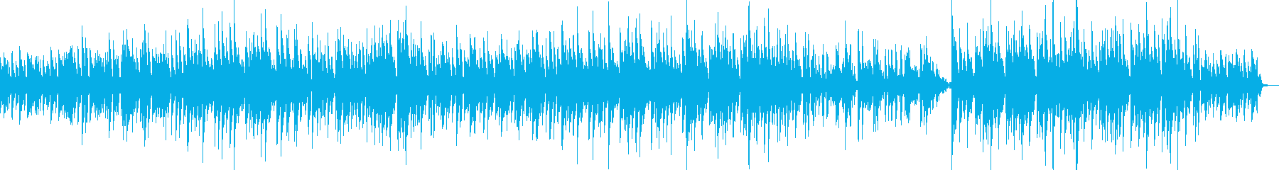 故郷をイメージしたBGMの再生済みの波形