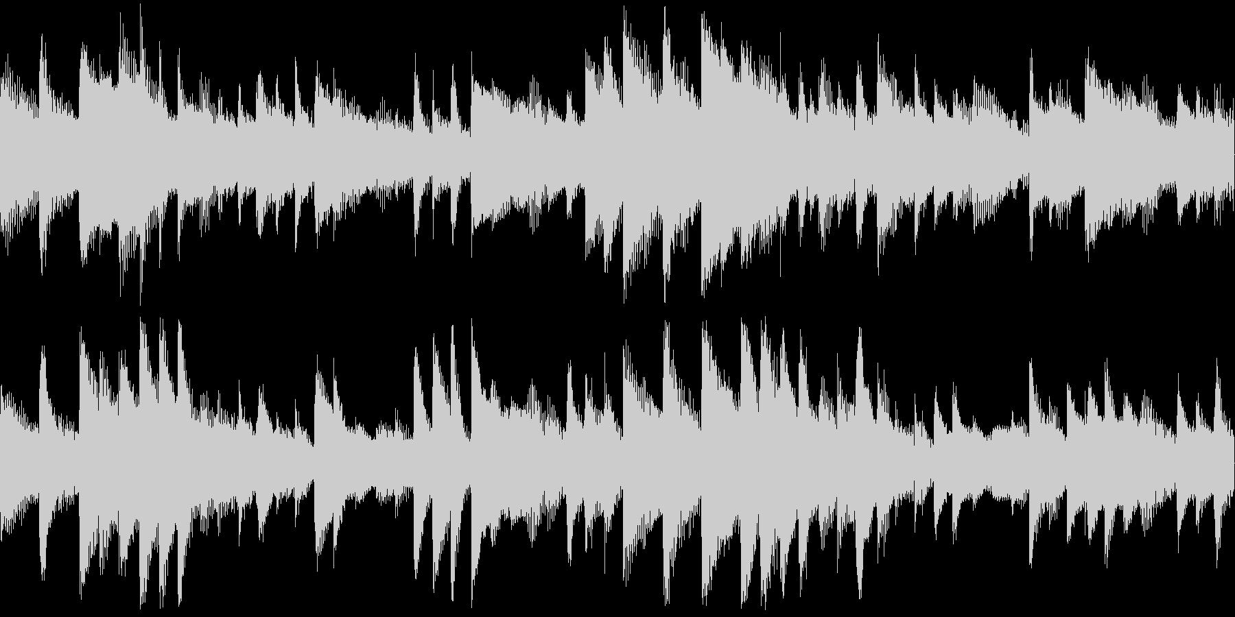 柔らかな雰囲気の癒し系ピアノソロの未再生の波形