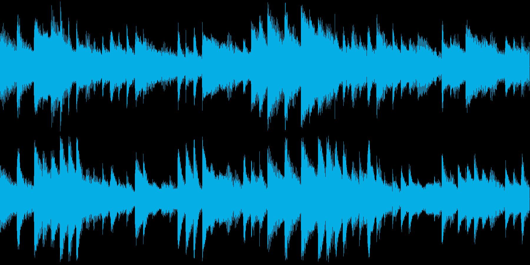 柔らかな雰囲気の癒し系ピアノソロの再生済みの波形
