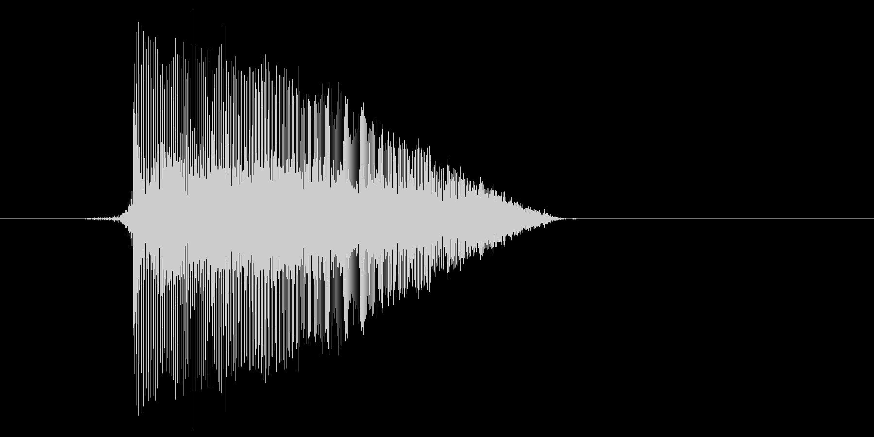 ゲーム(ファミコン風)ジャンプ音_030の未再生の波形