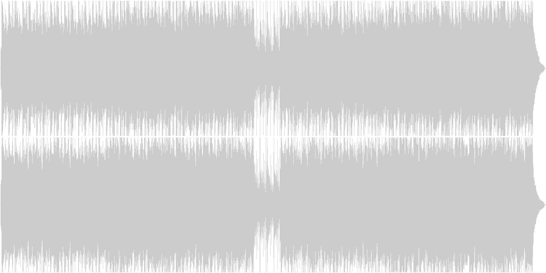 民族調の古楽でチターを使った情熱的な曲の未再生の波形