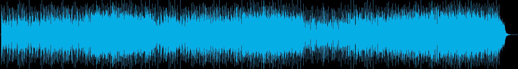 爽やかなセッションによるフュージョンの再生済みの波形