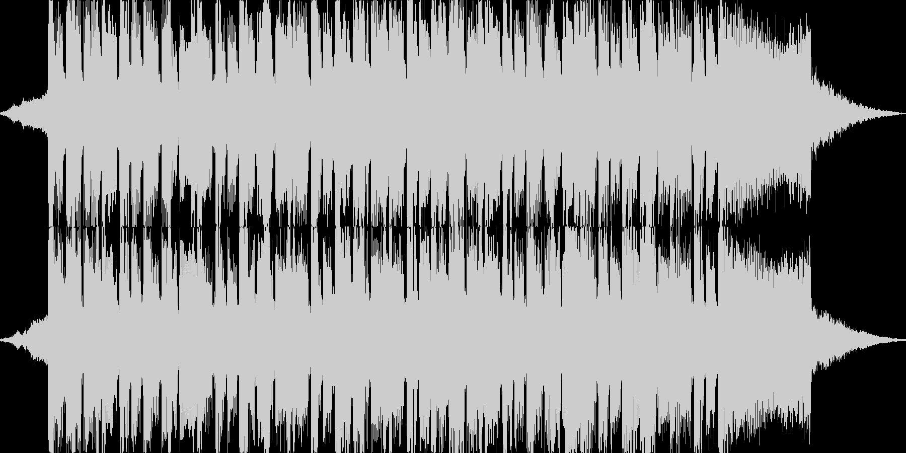 明るめな4つ打ちダンス系のジングルの未再生の波形