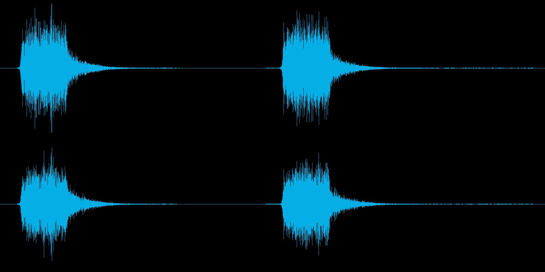 スプレーを噴きかける3の再生済みの波形