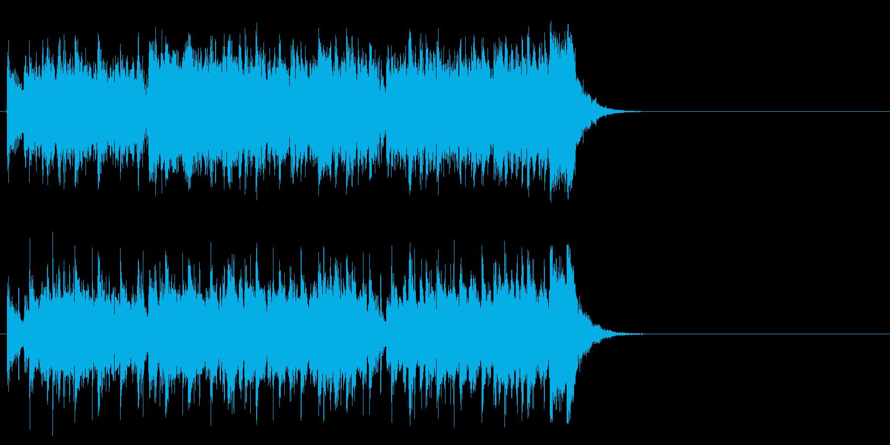 フレッシュ気分のポップ(サビ)の再生済みの波形