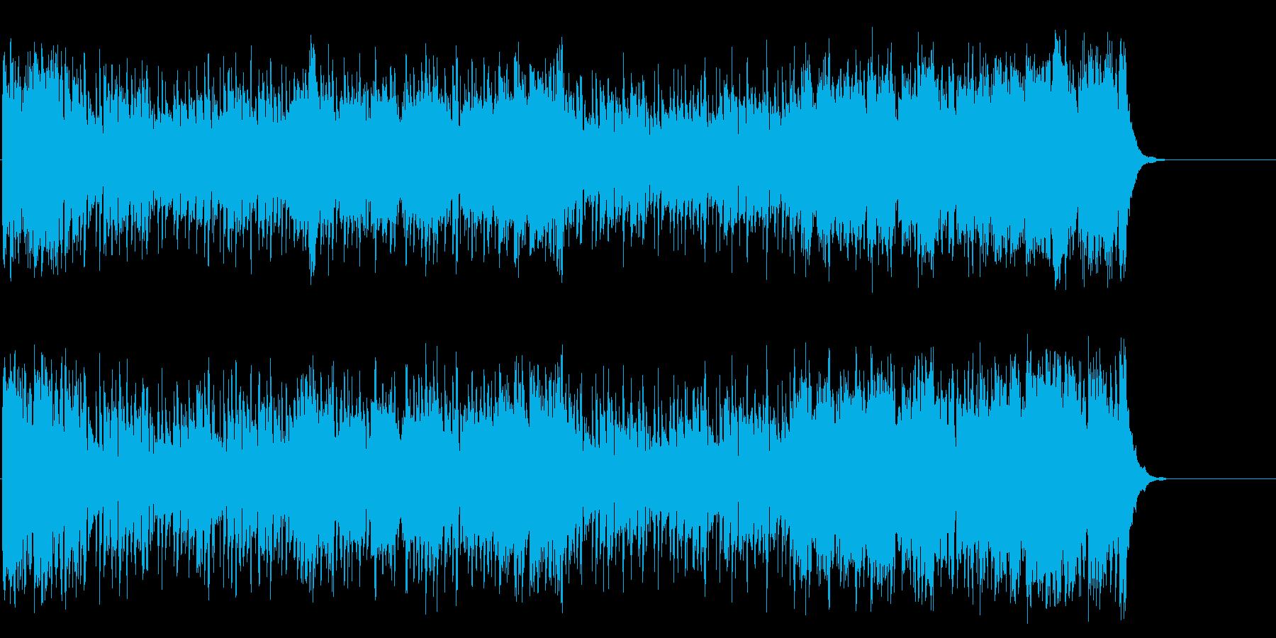 透明感のある軽快なポップ・テーマの再生済みの波形