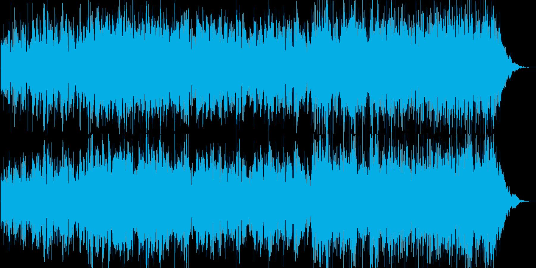 イージーリスニングの再生済みの波形