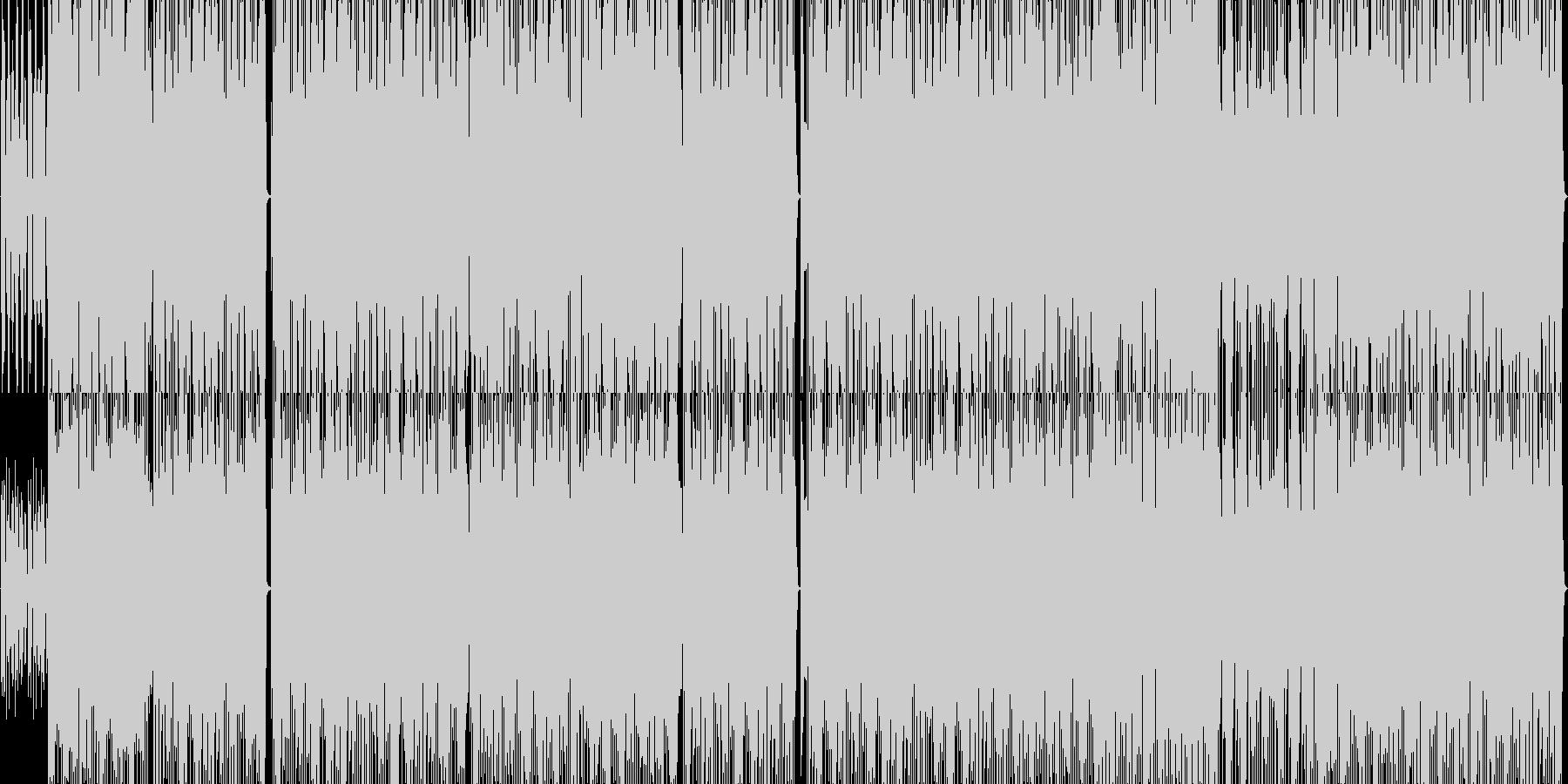 ラテン系のhiphop インストの未再生の波形