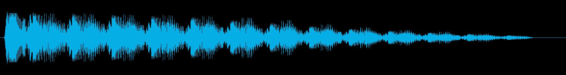 ピロロロロ..消(機械的なループ音)の再生済みの波形