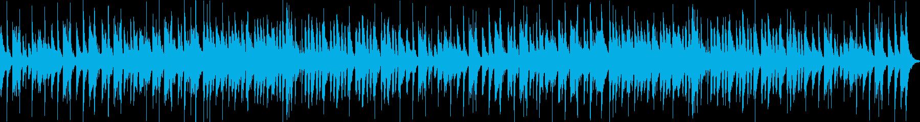マリオっぽい曲で楽しい感じですの再生済みの波形