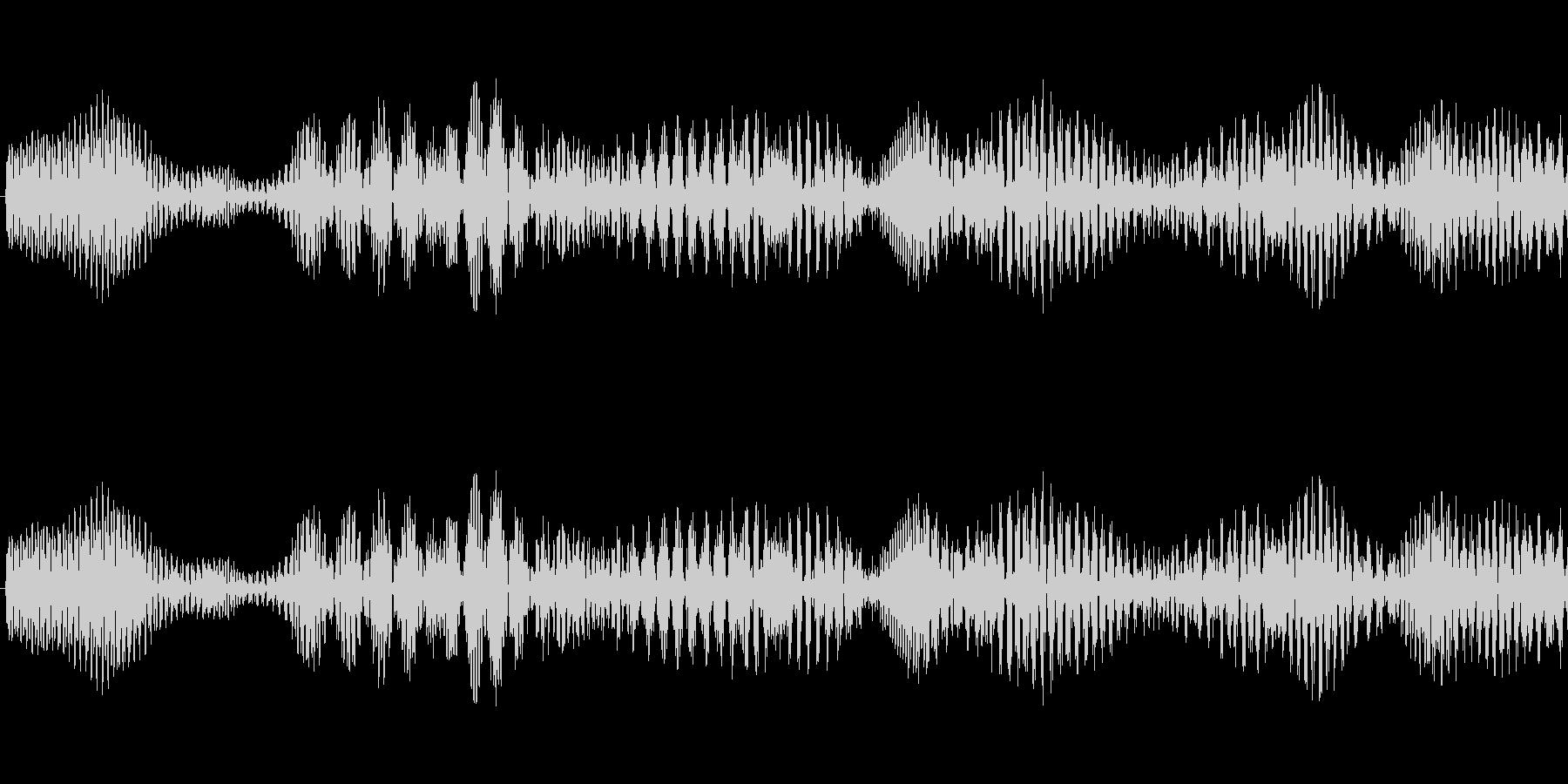 システム決定音の未再生の波形