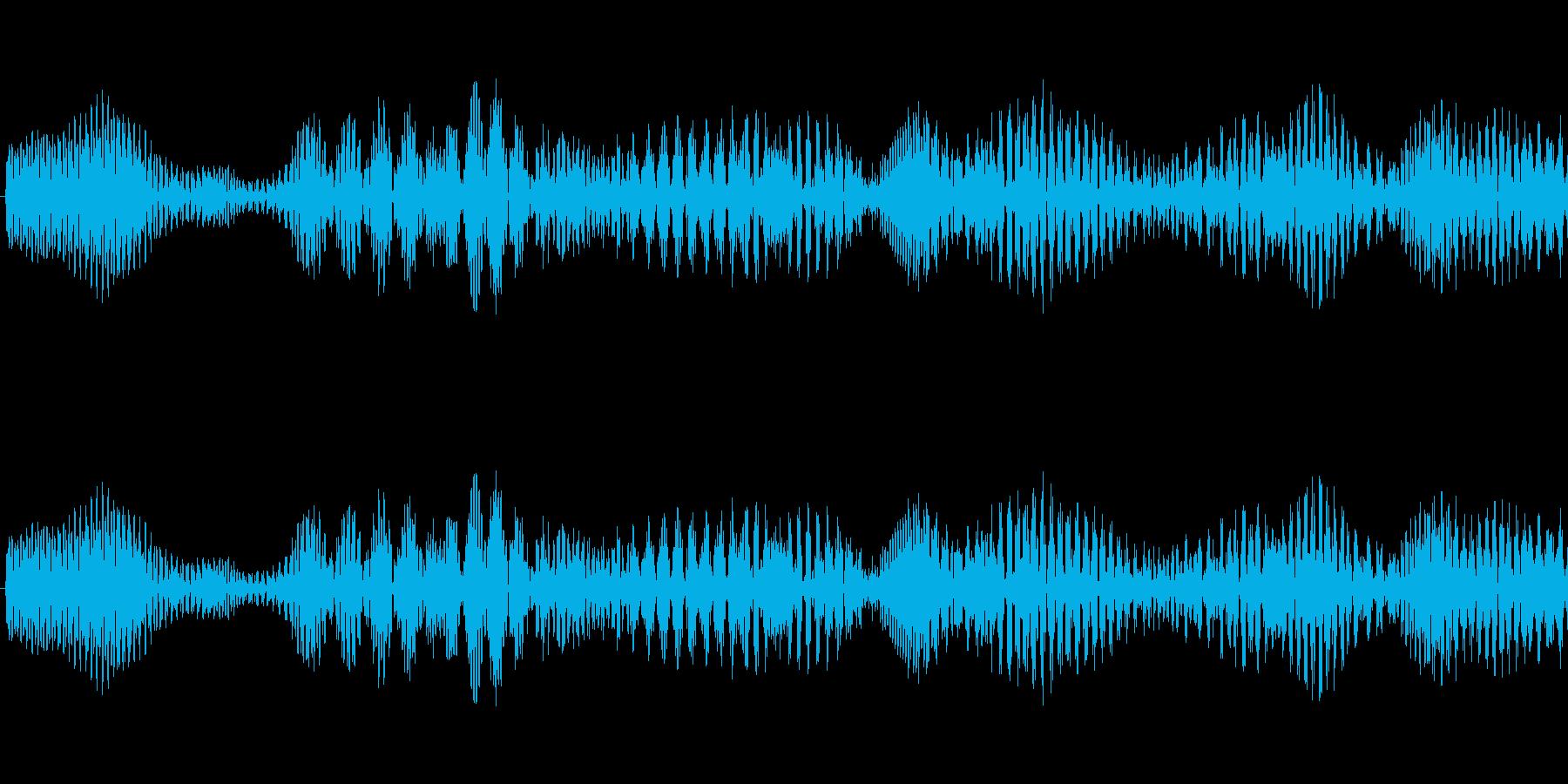 システム決定音の再生済みの波形