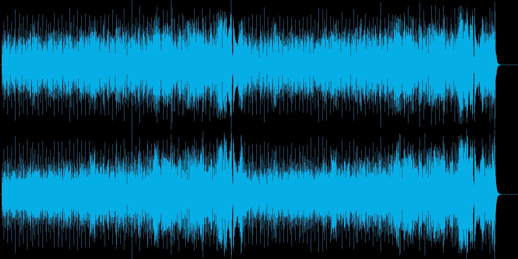 ルーズなR&B/ポップの再生済みの波形