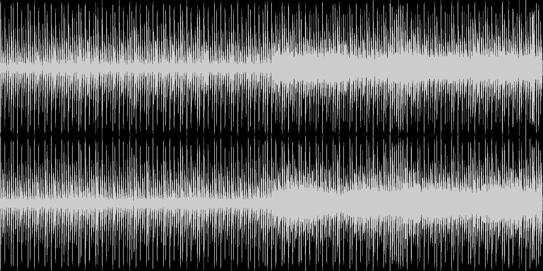 ゲーム音楽に最適な楽曲の未再生の波形