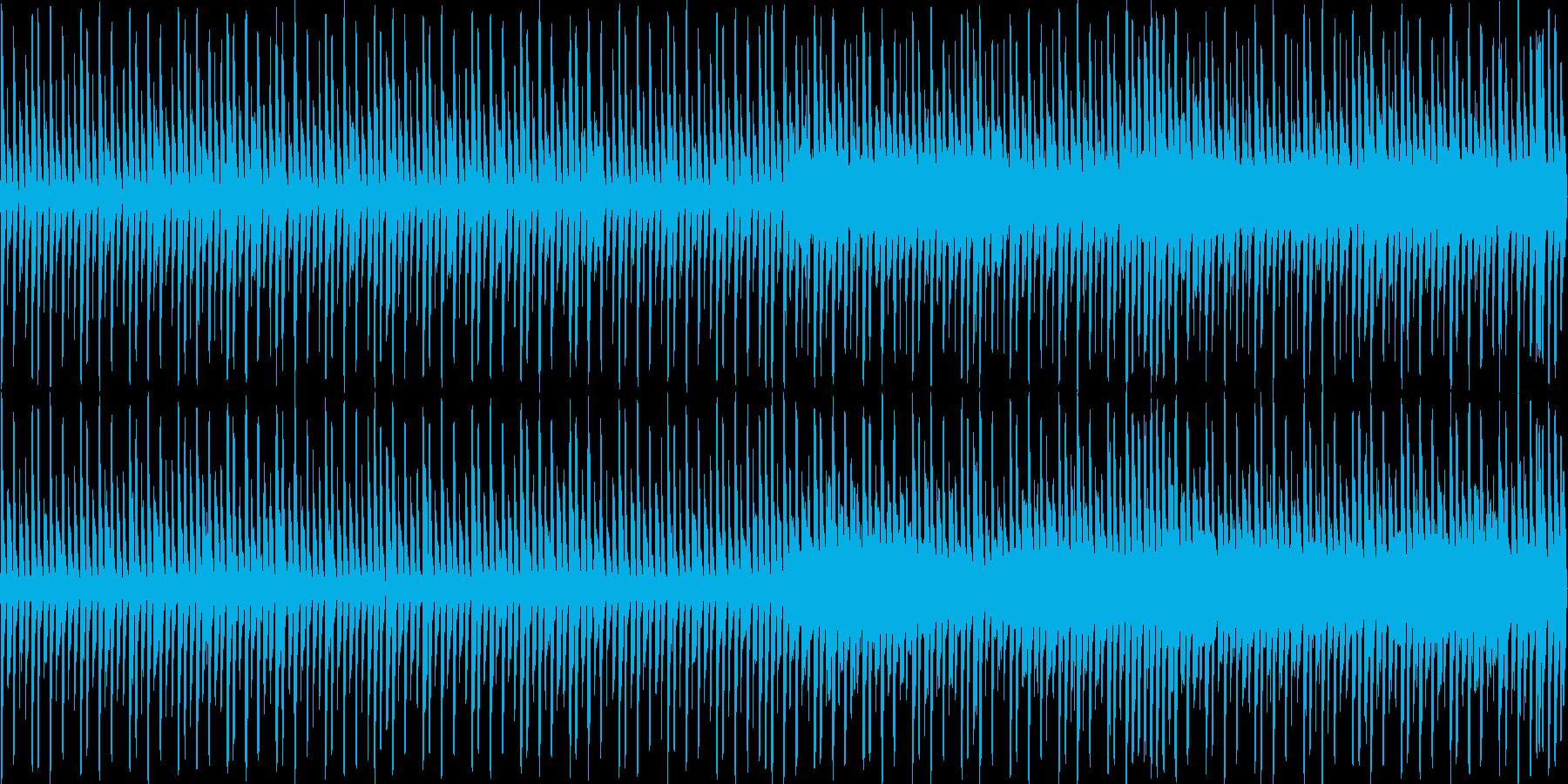 ゲーム音楽に最適な楽曲の再生済みの波形