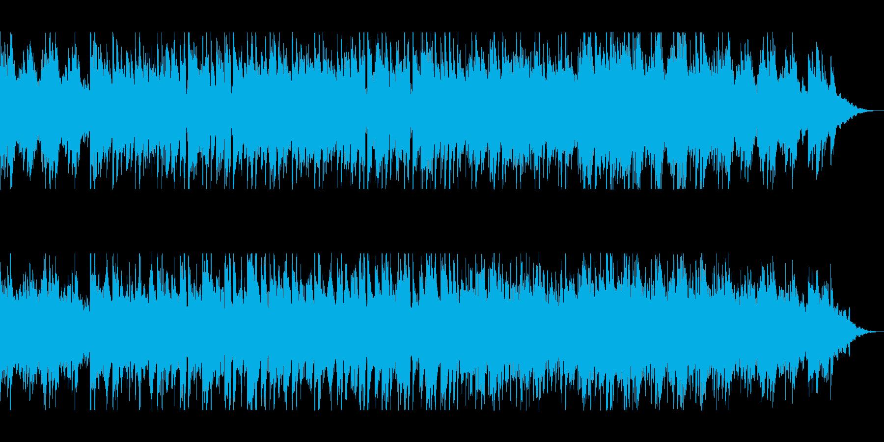 ピアノの旋律が温かみを与えるポップスの再生済みの波形