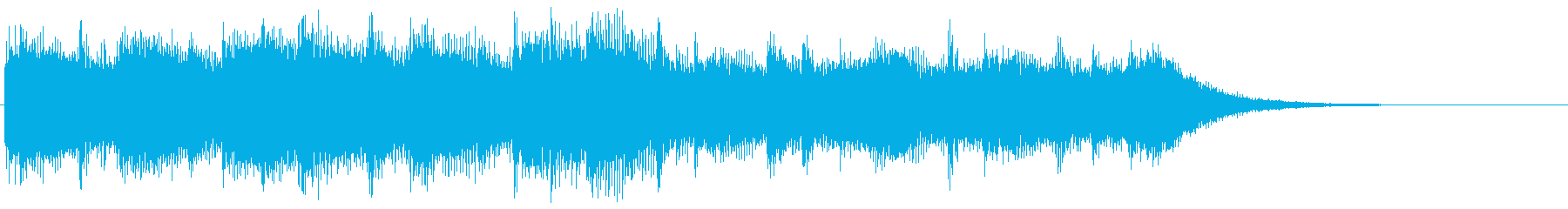 8bitなエンディング ほのぼの場面転換の再生済みの波形