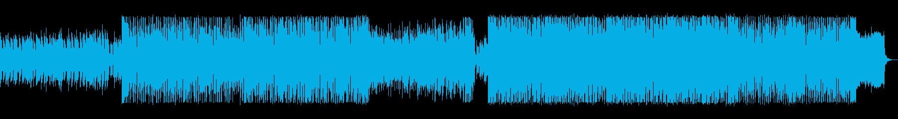 キラキラ、ポップなエレクトロニカの再生済みの波形