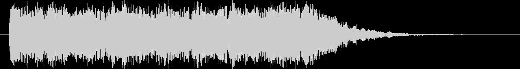 フルオーケストラの雄大&壮大なロゴの未再生の波形
