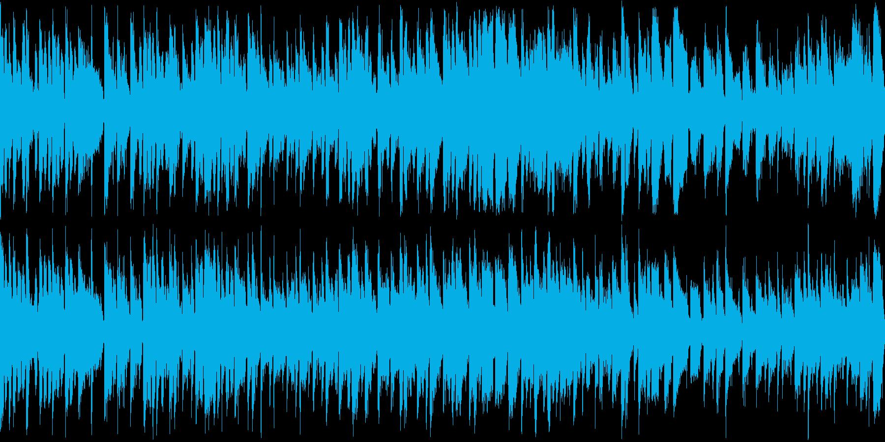 子供向け教材などにキャッチーな曲の再生済みの波形