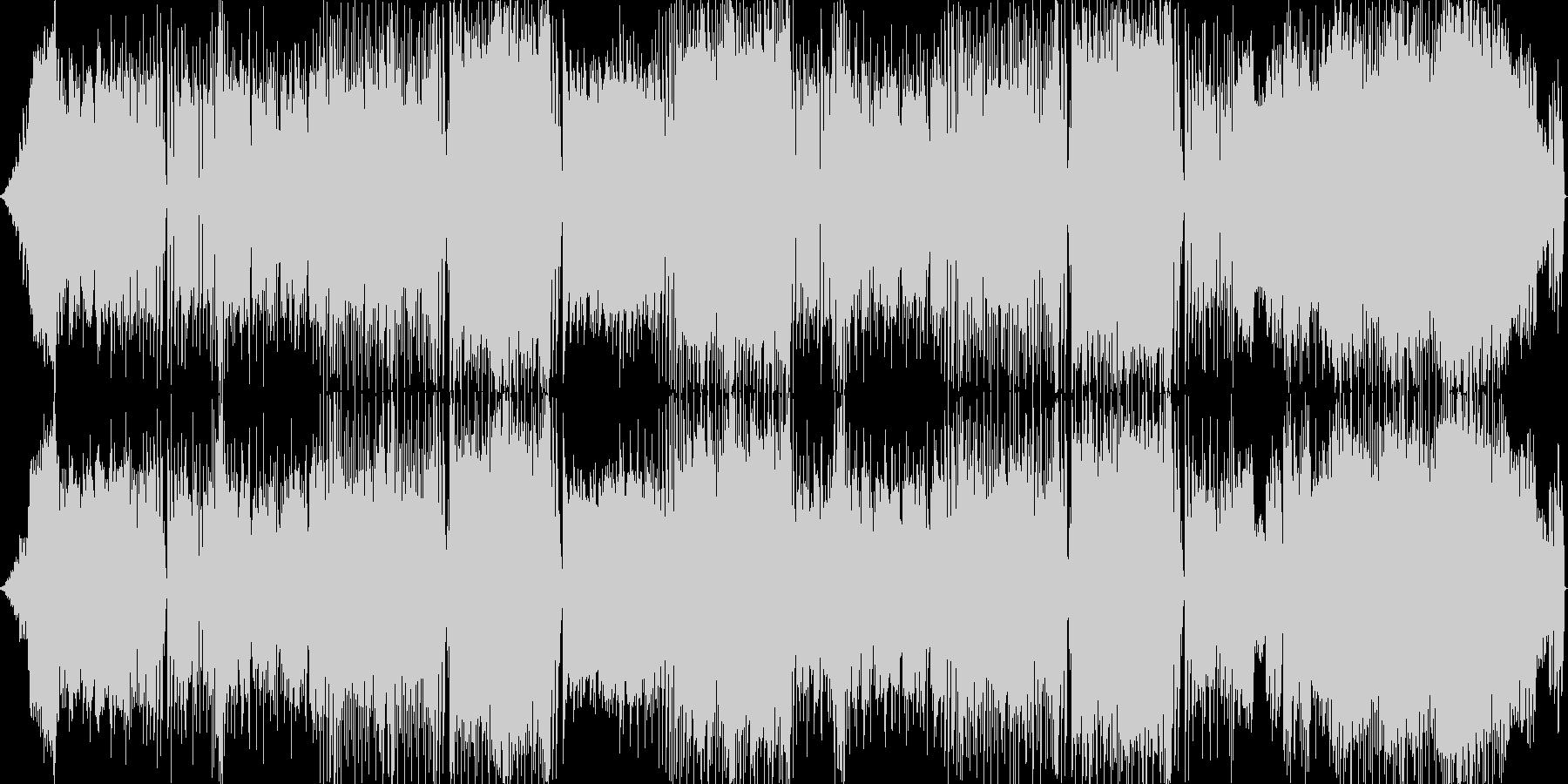 和風 レゲエ風のリズムのバラードの未再生の波形