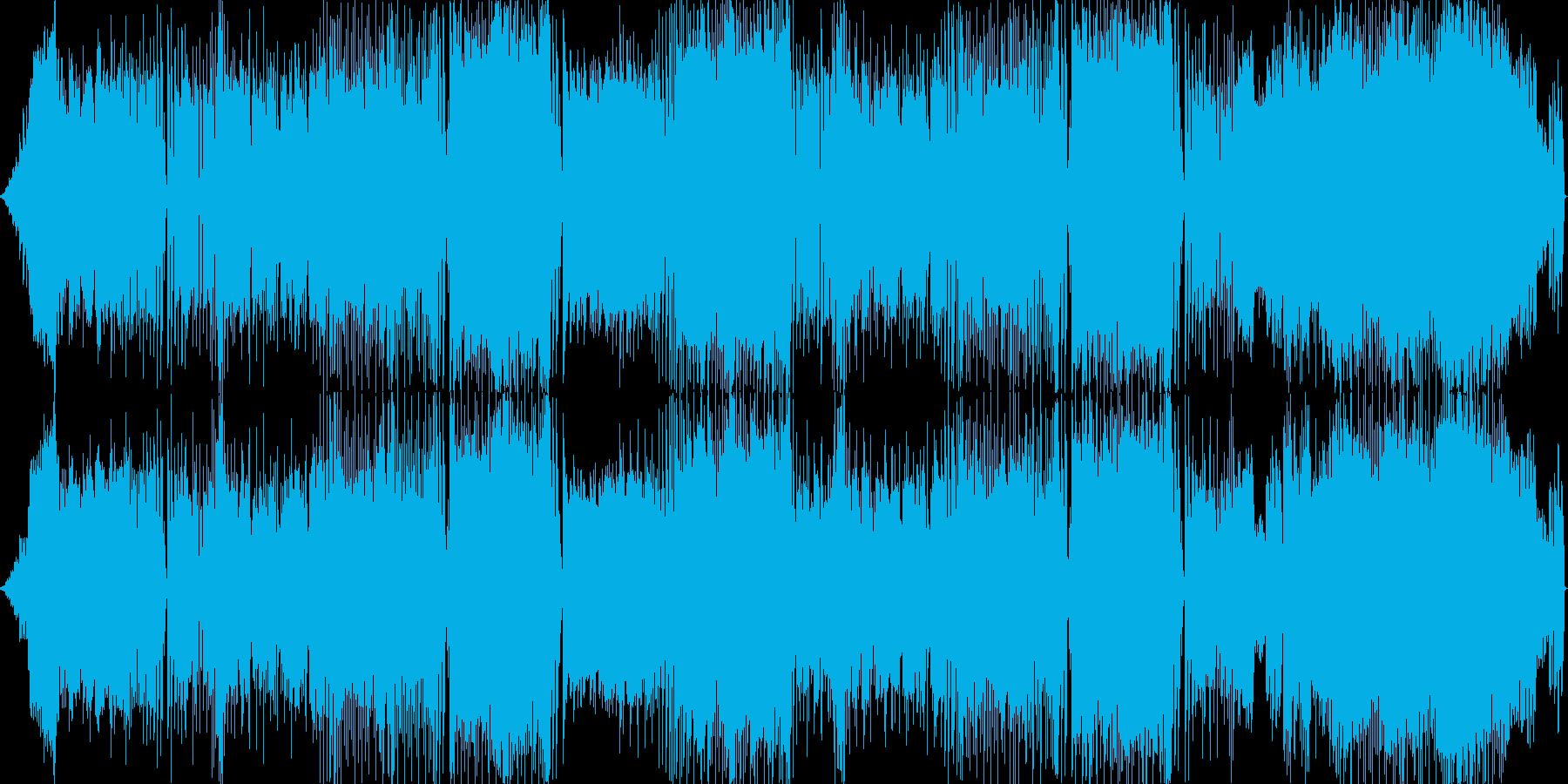 和風 レゲエ風のリズムのバラードの再生済みの波形