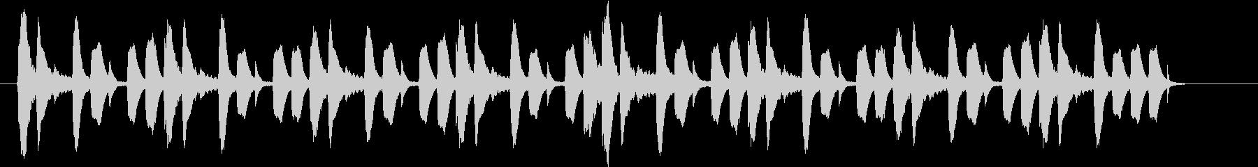 シンキングタイムなどに使えるシンプルな曲の未再生の波形