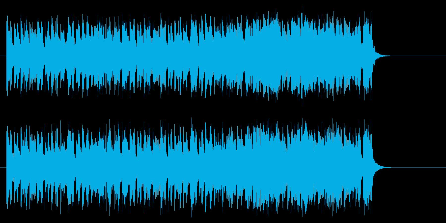 爽快なフュージョンポップ(サビ)の再生済みの波形