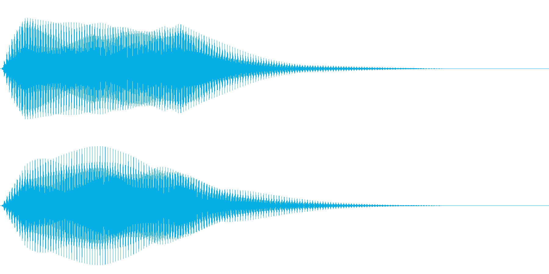 フワ~ン(オルガン系)の再生済みの波形