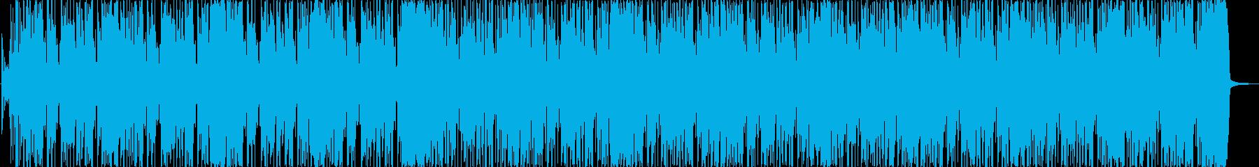 ハイウェイクルーズを楽しむアーバンな曲の再生済みの波形