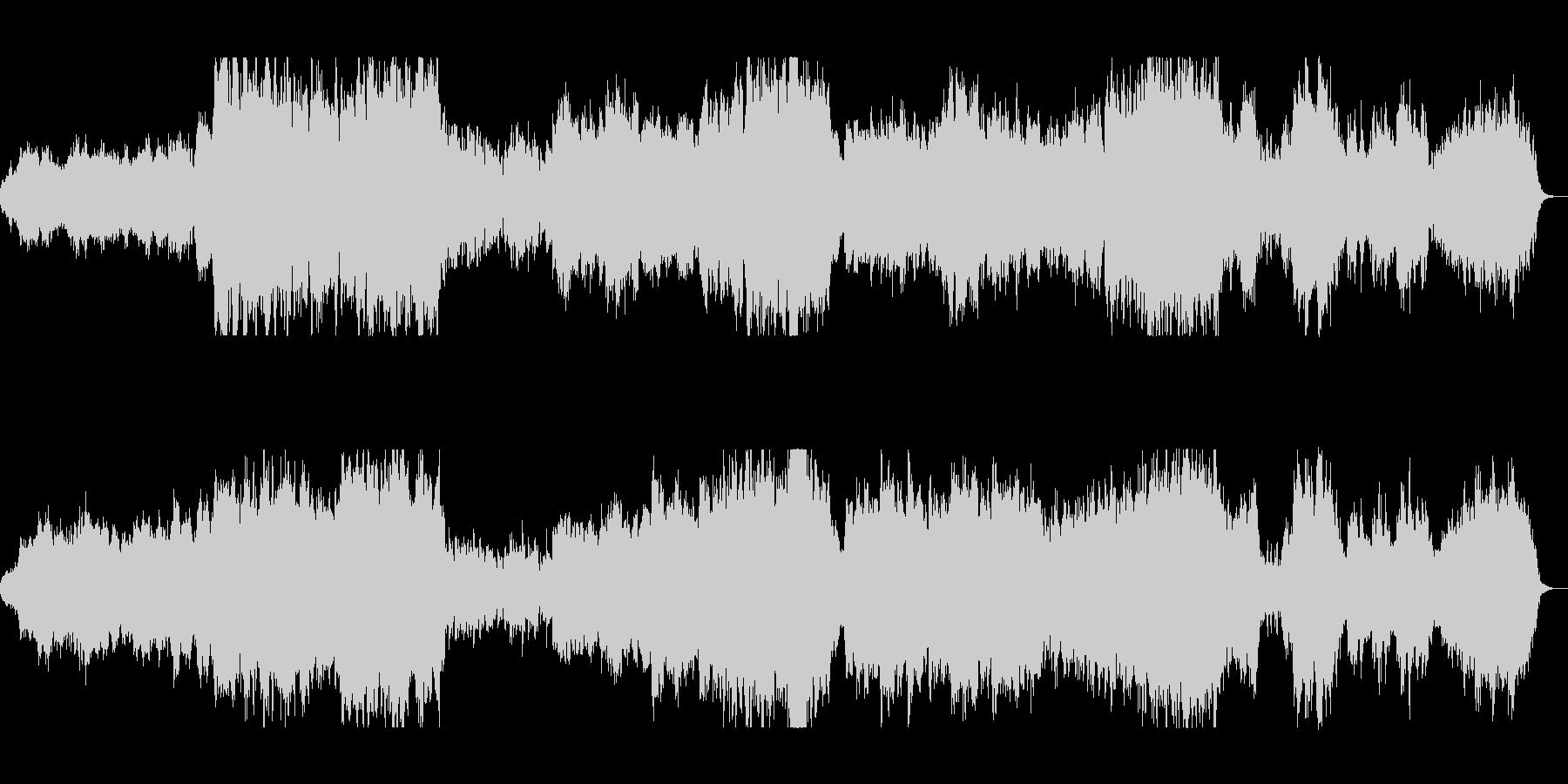 優しくゆったり管楽器シンセサウンドの未再生の波形